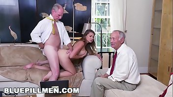 Grandpa Blowjob Shaved Big Ass
