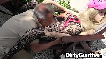 Bound Hardcore Outdoor Handjob