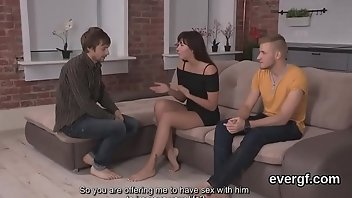 Seduced Hardcore Blowjob Threesome