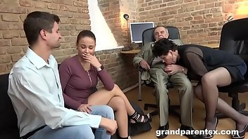 Interview Stockings Cumshot Facial
