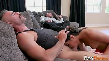 Uncle Teen Threesome MMF