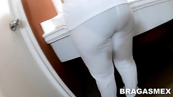 Nurse Latina Panties Doggystyle