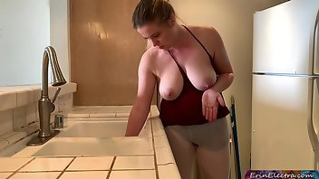 Funny Blonde MILF Amateur Homemade