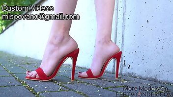 Shoes High Heels Heels Feet