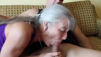 Pick Up Cumshot MILF Blowjob