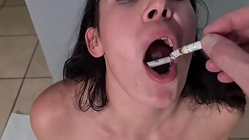 Cigarette Teen Humiliation Whore