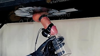 Gloves Cumshot Handjob Homemade