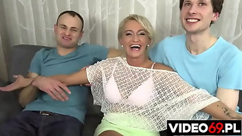 Group Sex Blonde MILF Mature