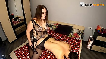 Mistress Blowjob Brunette Tattoo