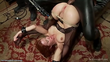 Whipping Anal Interracial MILF