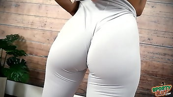 Spandex Big Ass Cameltoe Gym