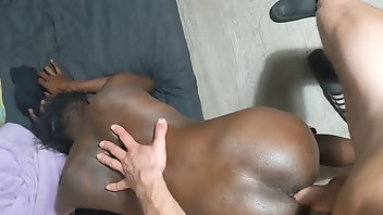 Tall Interracial Doggystyle